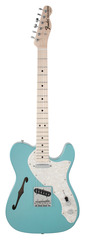 Fender Custom Shop 1969 Telecaster Thinline Teal Green