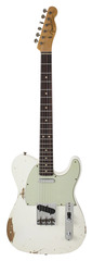 Fender Custom Shop 1963 Telecaster Custom Heavy Relic Arctic White
