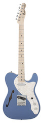 Fender Custom Shop 1969 Telecaster Thinline Lake Placid Blue