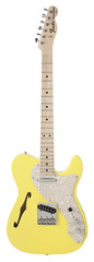 Fender Custom Shop 1969 Telecaster Thinline Canary Yellow