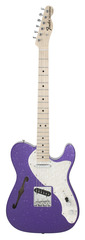 Fender Custom Shop 1969 Telecaster Thinline Purple Sparkle