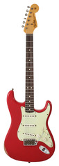 Fender Custom Shop 1963 Stratocaster Custom Heavy Relic Faded Dakota Red 2013