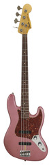 Fender 1960 Jazz Bass Journeyman Relic Burgundy Mist Metallic