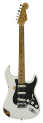 Fender Custom Shop LTD Ancho Poblano Stratocaster Aged White Blonde over 2 Tone Sunburst