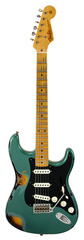 Fender Custom Shop LTD Ancho Poblano Stratocaster Sherwood Green over 2 Tone Sunburst