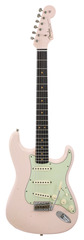 Fender Custom Shop Limited Edition 1963 Stratocaster Faded Shell Pink Matching Peg Head