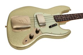 1960 Jazz Bass Relic Gold Sparkle Custom Shop