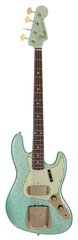 Fender 1960 Jazz Bass Relic Sea Foam Green Sparkle Custom Shop