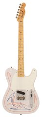 Pre-Owned Fender Custom Shop Limited Pinstriped Esquire White Blonde