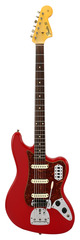 Fender Custom Shop Bass VI Journeyman Relic Dakota Red