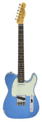 Fender Custom Shop 1960 Telecaster Custom Relic Aged Blue Sparkle Large Neck
