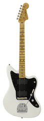 Fender Custom Shop Black Anodized Journeyman Relic Jazzmaster 2017 NAMM LTD Opaque White Blonde