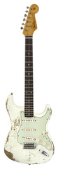 Fender Custom Shop 2017 LTD NAMM 60 Heavy Relic Color Relic Stratocaster Aged Olympic White