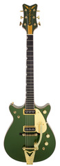 Gretsch Masterbuilt Penguin Cadillac Green Double Cutaway Custom Shop