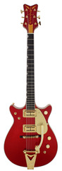 Gretsch Masterbuilt 62 Penguin Candy Apple Red Double Cutaway Custom Shop