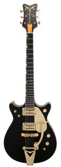 Gretsch Masterbuilt 62 Penguin Black Double Cutaway Custom Shop