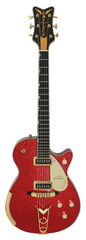 Gretsch Masterbuilt Red Sparkle Penguin Custom Shop