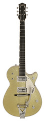 Gretsch Masterbuilt 1959 Duo Jet Custom Shop Gold Sparkle