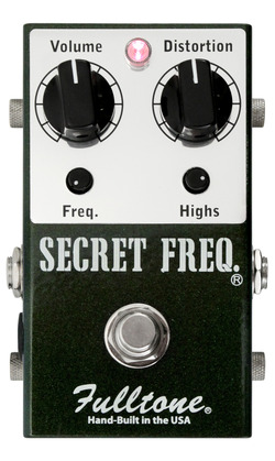 Fulltone Secret Freq Overdrive / Distortion Pedal