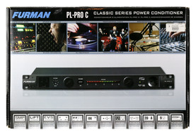 Furman PL-Pro C 20 Amp Power Conditioner with Voltmeter