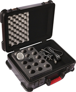 Gator ATA Molded Case<br>for 15 Microphones<BR>GM-15-TSA