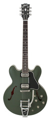 Gibson Chris Cornell ES-335 Bigsby Drab Green Limited Edition