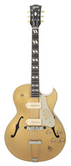 Gibson Scotty Moore Signature ES-295 Hand-Signed Bullion Gold