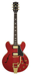 Gibson Custom Shop 63 Block ES-335 Faded Cherry Bigsby