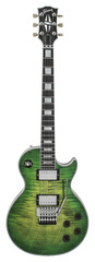 Gibson Custom Shop Les Paul Custom Axcess Iguana Burst W/ Floyd Rose