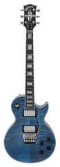 Gibson Custom Shop Les Paul Custom Axcess Indigo Blue W/ Floyd Rose