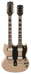 Gibson Custom Shop ES1275 Double Neck Gold Mist