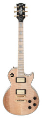 Pre-Owned Gibson Custom Shop 2011 Les Paul Custom Figured Natural with Maple Fingerboard