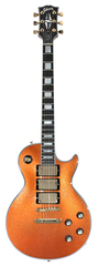 Pre-Owned Gibson Custom Shop 1970s Les Paul Custom Orange Sparkle 3 Pickup 2012