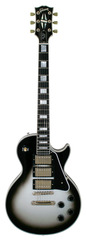 Pre-Owned Gibson Custom Shop 2008 Les Paul Custom 3 Pickup Silverburst