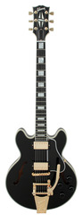 Gibson Custom Shop CS 356 Ebony Finish with Bigsby