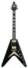 Gibson Custom Shop Flying V Custom Ebony Limited Edition