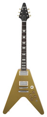 Gibson Custom Shop Limited Run Flying V Gold Top