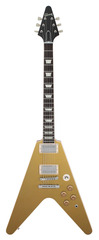 Gibson Custom Shop Benchmark Collection 2014 Limited Run Flying V Gold Top