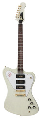 Gibson Custom Shop Firebird Non Reverse 3 P-90s TV White