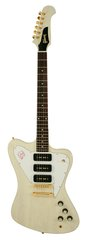 Gibson Custom Shop Firebird Non Reverse 3 P90s TV White
