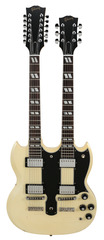 Gibson Custom Shop Alex Lifeson  Limited Edition 1275 Double Neck Aged Signed