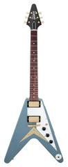 Gibson Custom Shop Benchmark Collection 2014 Limited Run 1959 Flying V Pelham Blue