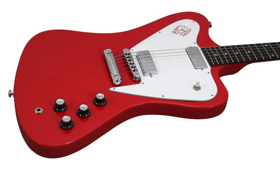 gibson limited run non reverse firebird ferrari red 2015 rainbow guitars. Black Bedroom Furniture Sets. Home Design Ideas