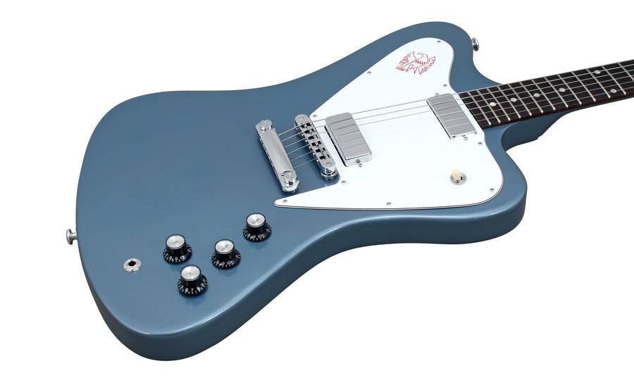gibson limited run non reverse firebird pelham blue sale price rainbow guitars. Black Bedroom Furniture Sets. Home Design Ideas