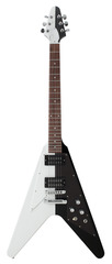 Gibson Rudolf Schenker Flying V Black White 2013