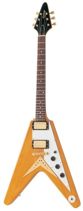 Epiphone 1958 Korina Flying V Antique Natural