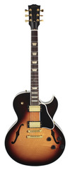 Gibson ES-137 Classic Triburst with Gold Parts
