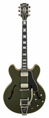 Gibson Limited Edition ES 355 Bigsby Olive Drab VOS 2015