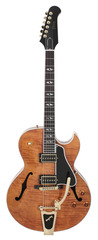 Gibson Figured ES-195 Trans Amber