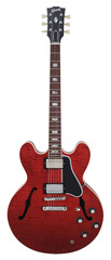 Gibson 335 Figured, 390 Neck Wine Red 2015